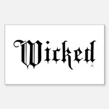 Wicked Rectangle Decal