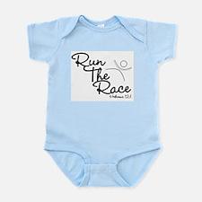 Run The Race Infant Creeper