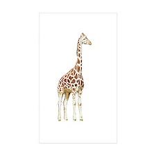 giraffe 2 Rectangle Sticker 50 pk)