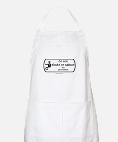 Do not shake or agitate pharm BBQ Apron