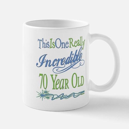 Incredible 70th Mug