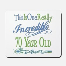 Incredible 70th Mousepad