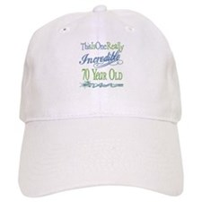 Incredible 70th Baseball Cap