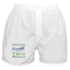 Incredible 70th Boxer Shorts