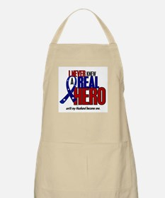 Never Knew A Hero 2 Military (Husband) BBQ Apron