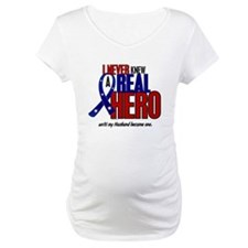 Never Knew A Hero 2 Military (Husband) Shirt