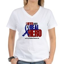 Never Knew A Hero 2 Military (Husband) Shirt