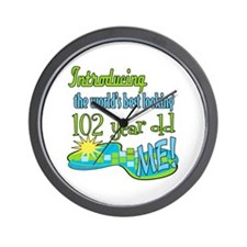 Best Looking 102nd Wall Clock
