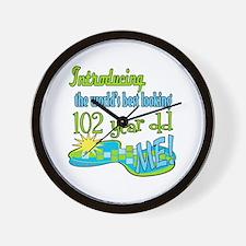 Best Looking 102nd Wall Clock