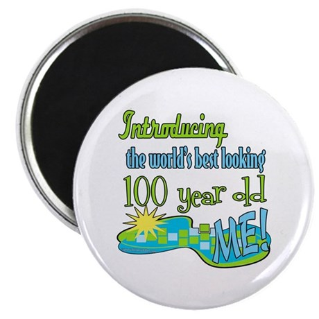 "Best Looking 100th 2.25"" Magnet (100 pack)"