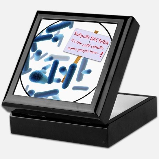 Cute Science humor Keepsake Box