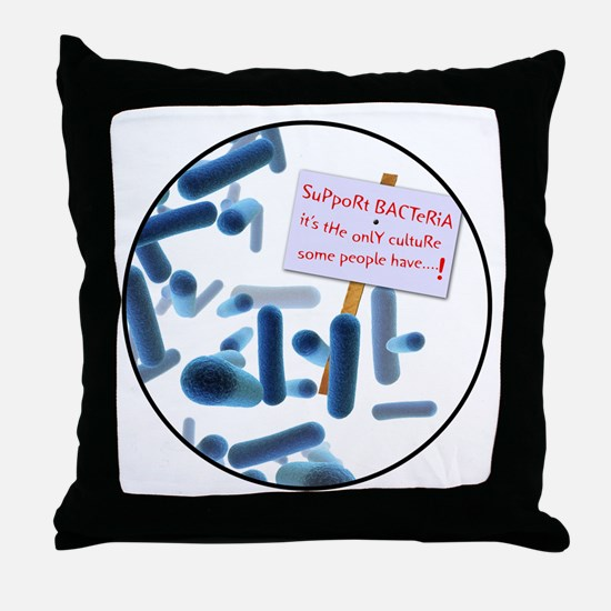 Cute Intellectual Throw Pillow