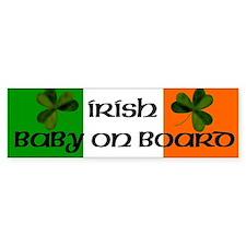 Irish Baby on Board Bumper Bumper Sticker