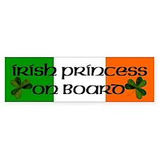 Irish Princess on Board Bumper Stickers