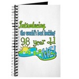 98th birthday Journals & Spiral Notebooks