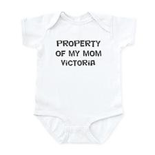 Property of My Mom Victoria Infant Bodysuit