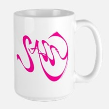 Sassy 15 oz. white Mug