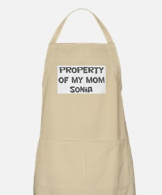 Property of My Mom Sonia BBQ Apron