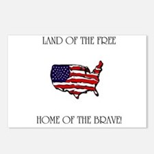 Land of the Free, Home of the Postcards (Package o