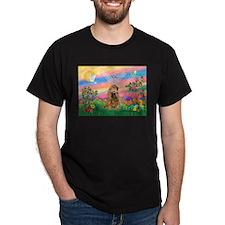 Guardian Angel / Cocker (brn) T-Shirt