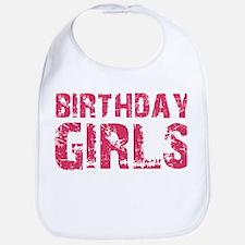 BIRTHDAY GIRLS (pink) Bib