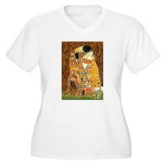 Kiss / Cocker (brn) T-Shirt