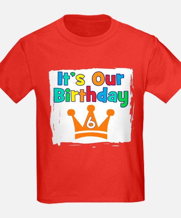 It's Our Birthday Crown (6) T