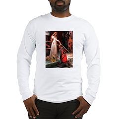Accolade / Cocker (brn) Long Sleeve T-Shirt