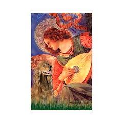 Angel (3) & Cocker (7) Sticker (Rectangle 50 pk)