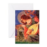 Angel (3) & Cocker (7) Greeting Cards (Pk of 10)