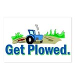 Get Plowed. Postcards (Package of 8)