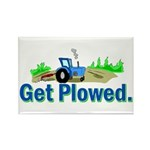 Get Plowed. Rectangle Magnet