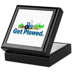 Get Plowed. Keepsake Box