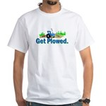 Get Plowed. White T-Shirt
