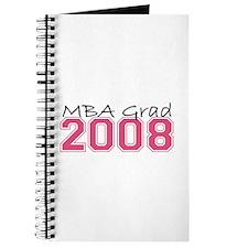 MBA Grad 2008 (Pink) Journal