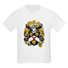 Hayes Family Crest Kids T-Shirt