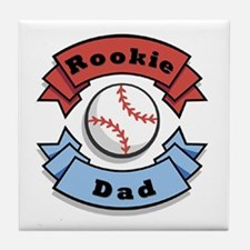 Rookie Dad Tile Coaster