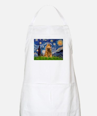 Starry / Cocker (#7) Apron