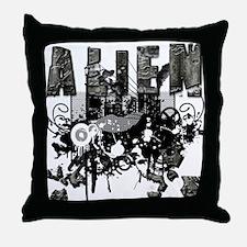 Alien Vector Design 6 Throw Pillow