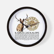 Kansas Jackalope Association Wall Clock