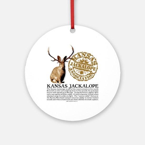Kansas Jackalope Association Ornament (Round)