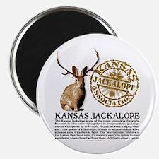 Kansas Jackalope Association Magnet