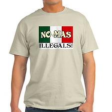 """""""No Mas Illegals"""" Color T-Shirt"""