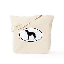 Scottish Deerhound Oval Tote Bag