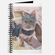 Cute Silky terrier Journal