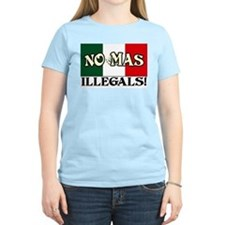 """""""No More Illegals!"""" Women's Color Tee"""