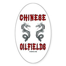 Chinese Oilfields Oval Decal