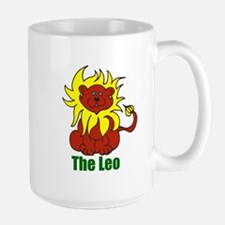 Giggling Leo Mug