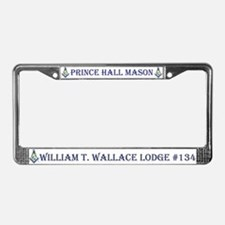W. T. Wallace PHA License Plate Frame