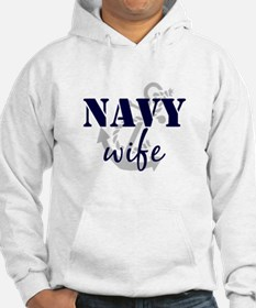 Navy Wife Jumper Hoody